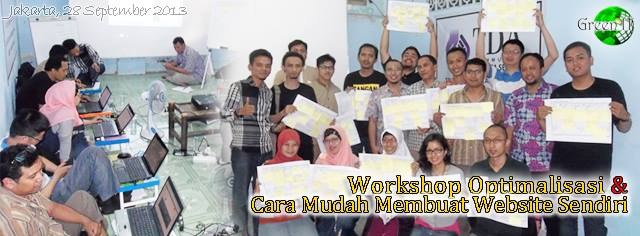 Workshop Optimalisasi & Cara Mudah Membuat Website Sendiri