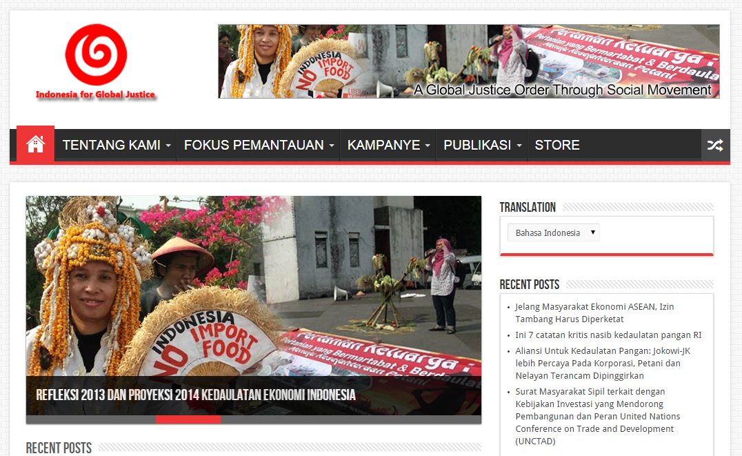 Indonesia Global Justice